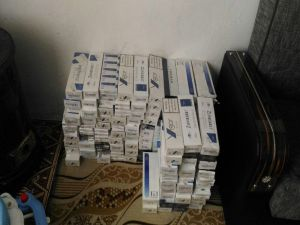 Kayseri'de Bin 770 Paket Kaçak Sigara Ele Geçirildi