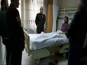 Afrin'de Yaralanan Ispartalı Uzman Çavuş Ankara'da Tedavi Altına Alındı