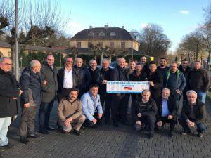 Avrupa Kütahyalılar Federasyonu'nda Adil Esmen Güven Tazeledi