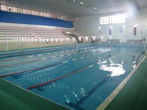 Osman Çağlı Kapalı Yüzme Havuzunda Kış Sezonu Açıldı