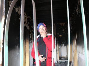 Kiralık Evleri Yanan Aileye Yardım Eli Uzatıldı
