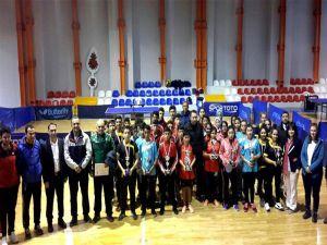 Bozyazı Şehit Murat Namdan Ortakokulu Masa Tenisinde Üçüncü Oldu
