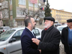 Sincan Belediye Başkanı Ercan'dan Atatürk Mahallesi Esnafına Ziyaret