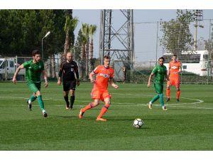 Serik ile CSK Moskova berabere kaldı