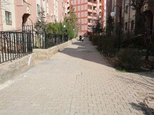Eyyübiye'de Toki Sokakları Aydınlatıyor