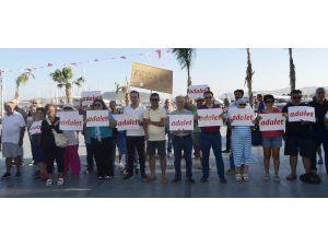 CHP'den Kaş'ta adalet yürüyüşü