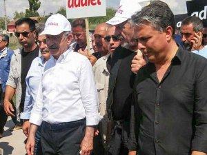 Uysal'dan adalet yürüyüşüne destek