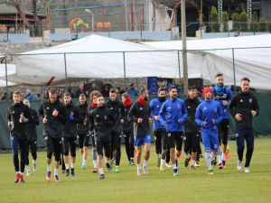 Karabükspor'da Akhisar Hazırlıkları Başladı