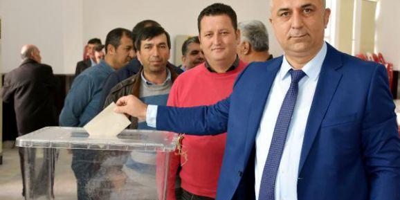 Kumluca Ulaştırma Hizmetleri Odası'nda seçim