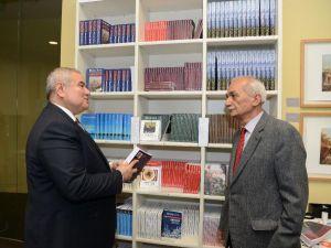 ATSO, Çimrin'in kitaplarını bastı