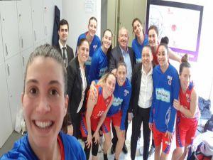 Mersin Büyükşehir Belediyespor, Türkiye Kupası'nda Yarı Finale Kalmak İstiyor