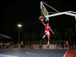 3x3 Sokak Basketbolu Finike Etabı'nda şampiyon 'SA Twins'
