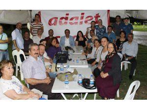 CHP, Antalya'da 'adalet çadırı' kurdu