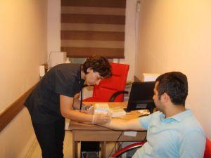 Finike'de Allerji Testi Başladı