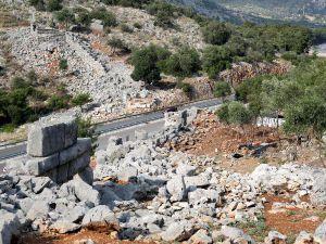 Büyük İskender'in fethedemediği Termessos'ta 2300 yıllık yol bulundu