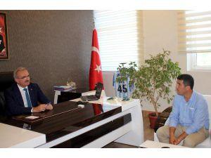 Vali Münir Karaloğlu Gazipaşa'da