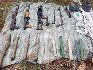 Terör Örgütlerinin Kırsal Sığınakları İmha Ediliyor