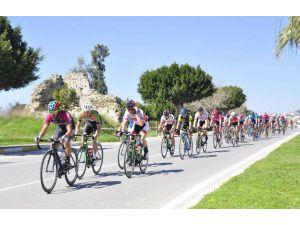 Grand Prix Side Yol Bisikleti yarışı yapıldı