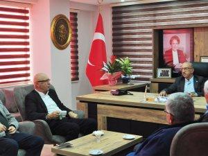 Subaşı ile Avşar'dan İYİ Parti'ye ziyaret