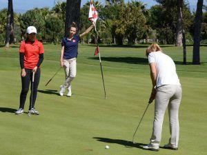 Golf Turu Belek'te başladı
