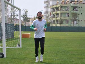 """Aytemiz Alanyasporlu Haydar Yılmaz: """"Şanssız şekilde puan kaybettik"""""""