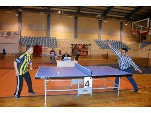Masa Tenisi Turnuvası sona erdi