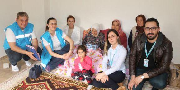'Yaşlılara Saygı Haftası' ziyaretleri