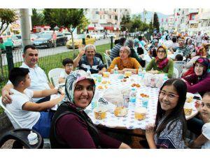 Kumluca'da Kadir Gecesi iftarı