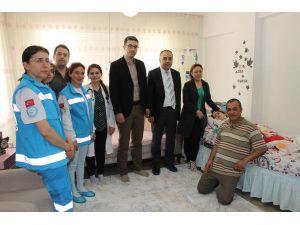 Yatalak hastalara evde sağlık hizmeti