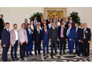 MATSO heyeti Ankara'da