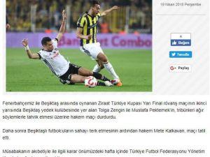 """Fenerbahçe Kulübü: """"Tolga Zengin ve Mustafa Pektemek tahrik etti"""""""