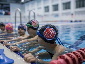 Olimpik Yüzme Havuzuna Yoğun İlgi