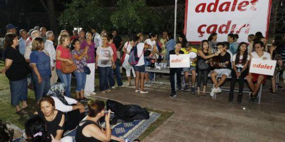 CHP'nin adalet nöbeti sürüyor