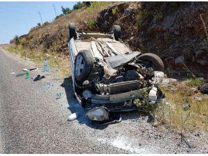Cenaze dönüşü kaza: 4 yaralı