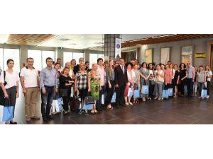 Konyaaltı'nda göçmenler konuşuldu