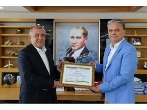 Rotary Kulüpleri'nden Uysal'a teşekkür