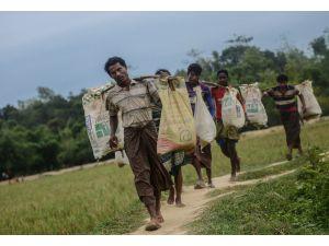 Rohingya Müslümanları'nın ölümden açlığa kaçışı