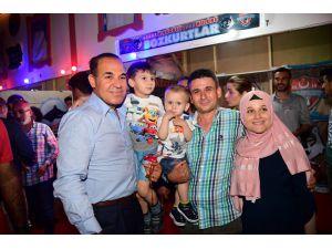 Başkan Sözlü'den Ramazan şenliklerine örnek ev sahipliği