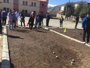 Bitlis'te 'Bocce' sporu
