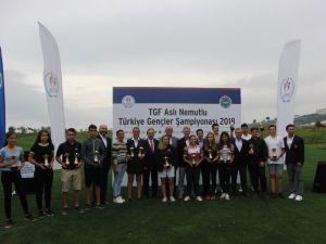 Samsun'da Ertuğrul ve Serra şampiyon oldu
