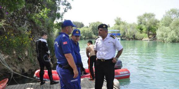 Irmakta kaybolan Samet'i arama çalışması 3'üncü gününde (2)