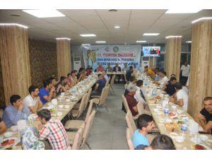 DHMİ'nin kuruluş yıl dönümünde havalimanı çalışanlarına iftar
