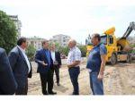 Darıca'da kapalı pazar inşaatı başladı