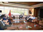 Kayseri Ticaret Borsası Yönetim Kurulu Başkanı Recep Bağlamış ve Yönetim Kurulu Üyelerinde Kayseri OSB Ziyareti
