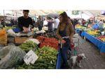 Denizli'de Sebze Ve Meyve Fiyatlarından Esnaf Da Vatandaş Da Memnun