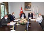 Çka Yönetim Kurulu Toplantısı, Mersin Ve Adana Valilerinin Katılımıyla Yapıldı