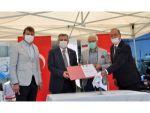 Neü Ve Helvacızade Arasında Tübitak Sanayi Doktora Programı İşbirliği Protokolü