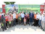 Büyükşehir Belediyesinin Projesiyle 60 Aileye Toplam Bin 500 Küçükbaş Hayvan Verilecek