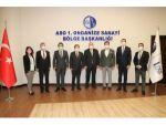Belarus Büyükelçisi Viktor Rybak Aso 1. Osb'yi Ziyaret Etti