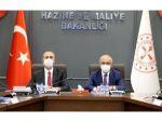 Bakan Elvan, Adalet Bakanı Abdulhamit Gül İle Bir Araya Geldi
